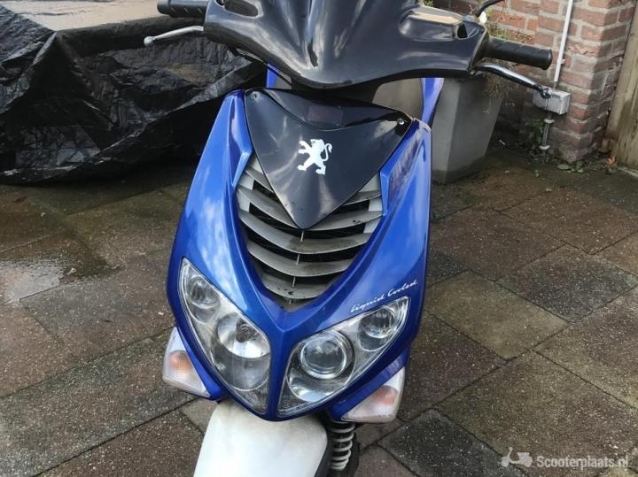 Peugeot Speedfight blauw