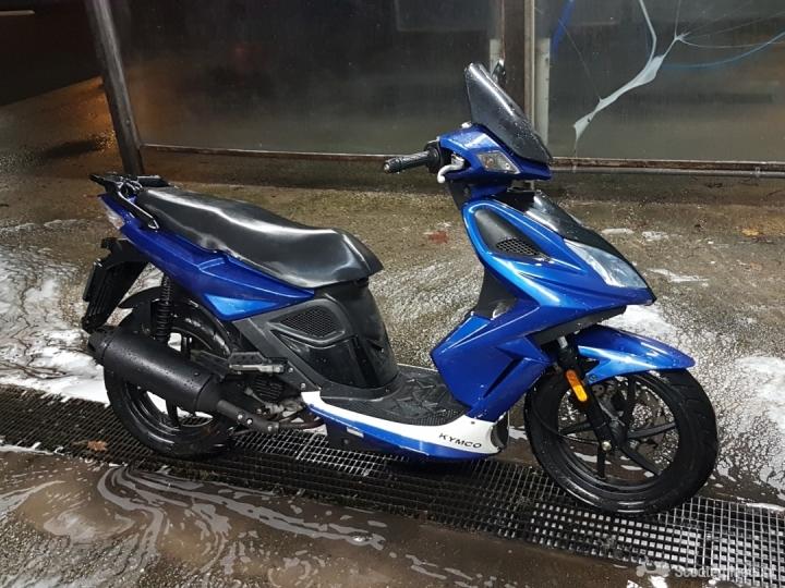Kymco Activ-50 blauw