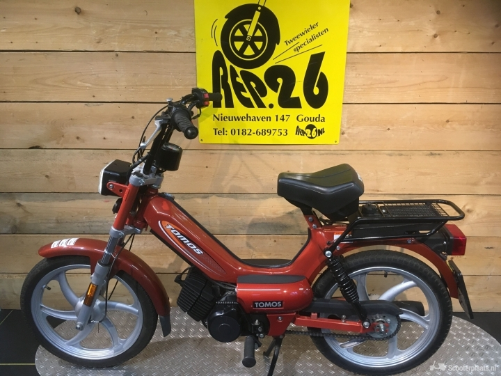 Tomos Luxe rood