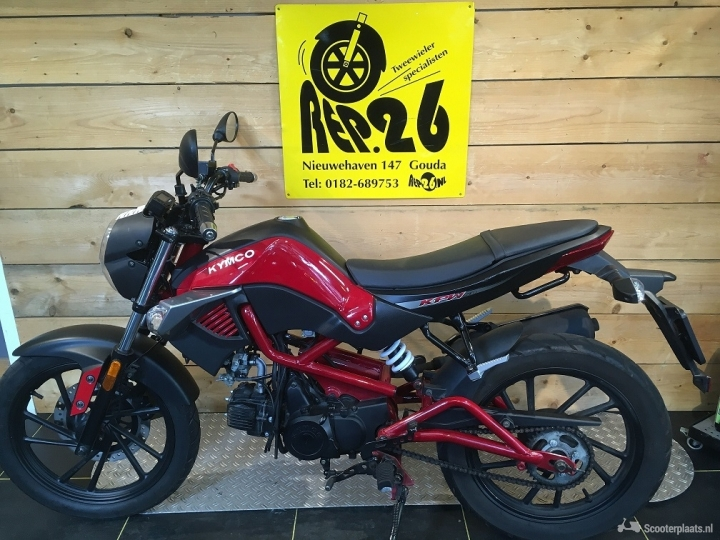Kymco K-Pipe 50 rood