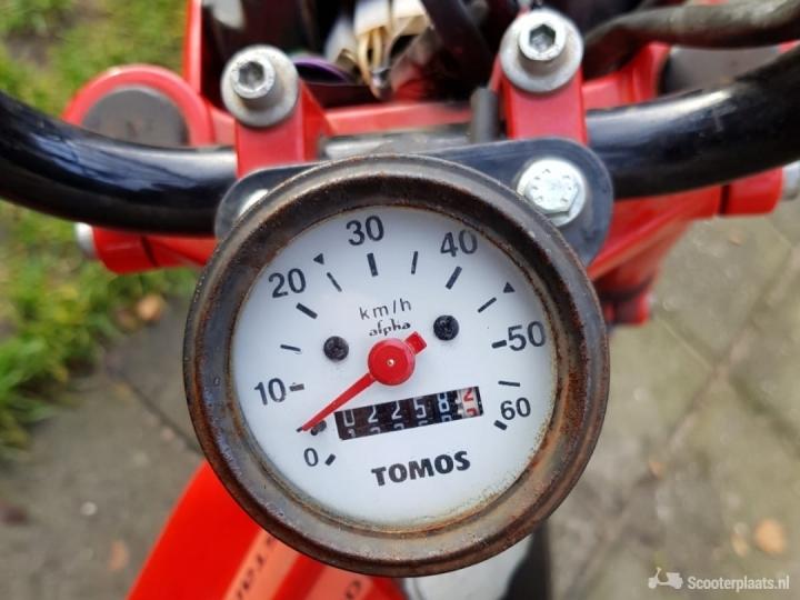Tomos Standard rood