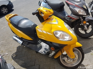 Honda Overig geel