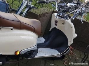 Znen scooter,Nieuwe windscherm