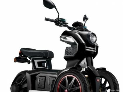 Elektrische scooter Doohan iTank
