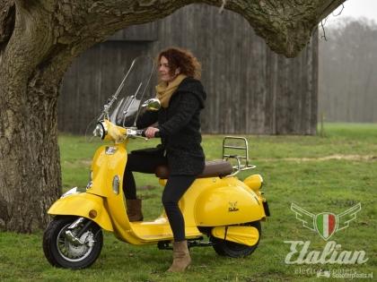Etalian Elektrische Retro scooters