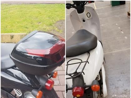 2x Elektrische scooters