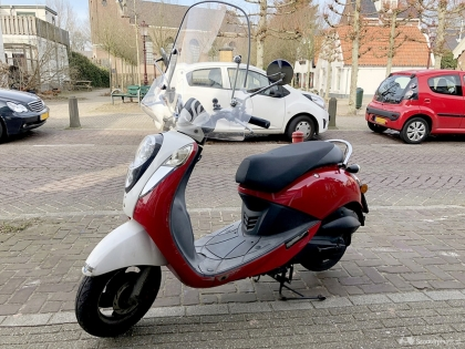 Leuke scooter te koop