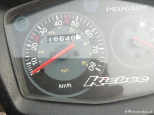 Peugeot Speedfight wit