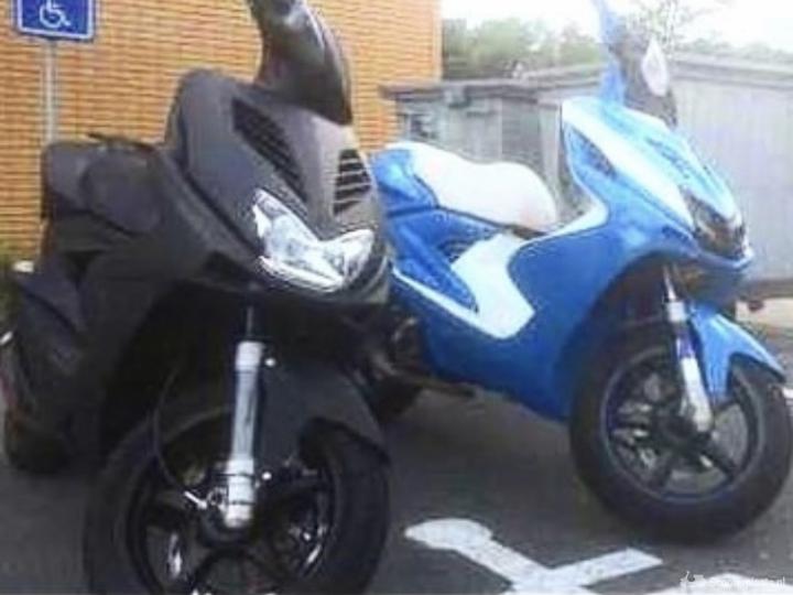 Yamaha Overig zwart