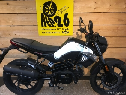 Kymco K Pipe, bj 2017, wit, 1595 incl rijklaar
