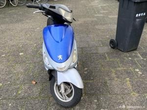 Een scooter V clic start momenteel niet