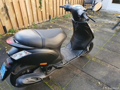 Snor scooter mat zwart