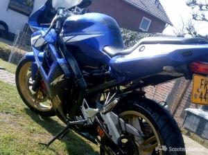 Yamaha TZR 50 blauw