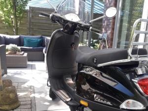 Scooter Piaggio Vespa LX 50 zwart 2013