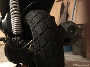 Yamaha DT 50 grijs