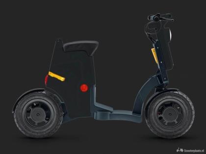 Gigi: Compacte en opvouwbare e scooter