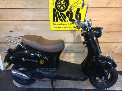 BTC Old Classic, snorscooter, zwart, voor 949