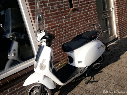 Boatian Classico bromscooter wit