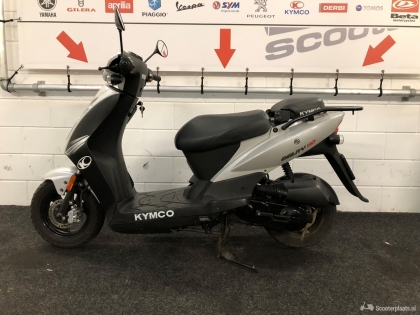 Kymco Agility 4T Zilver