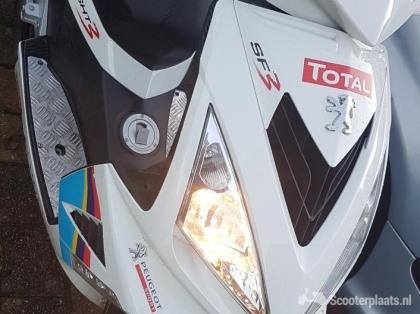 Peugeot Speedfight 3 bj 2016 limited white edition
