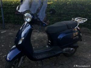 Gerroe scooter donkerblauw
