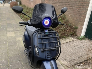 Vespa sprint Brom custom Midnight blue