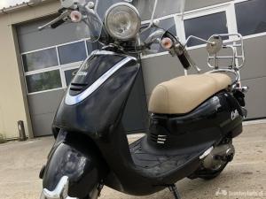 Retro SnorScooter Sym Cello 2009 4 takt